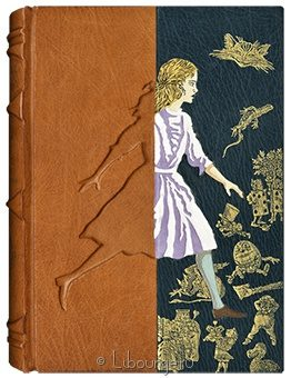 Подарочная книга 'Приключения Алисы'
