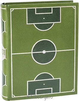 1001 момент футбольной истории (№2) в кожаном переплёте