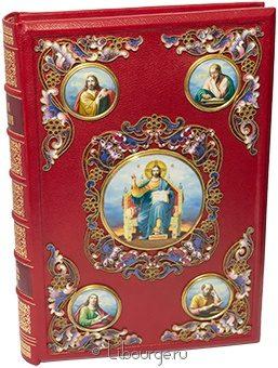 Святое Евангелие (№19) в кожаном переплёте
