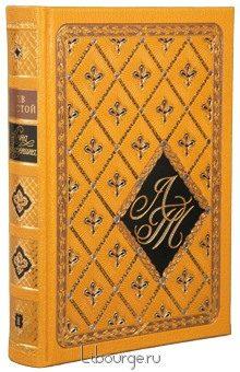 Лев Толстой, Анна Каренина (2 тома) в кожаном переплёте
