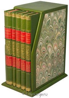Подарочное издание 'Сто предметов из собрания Российских императоров (5 томов)'