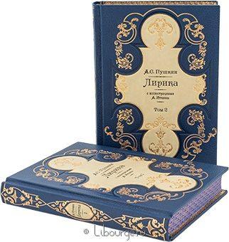 Подарочное издание 'Лирика Пушкина (2 тома)'