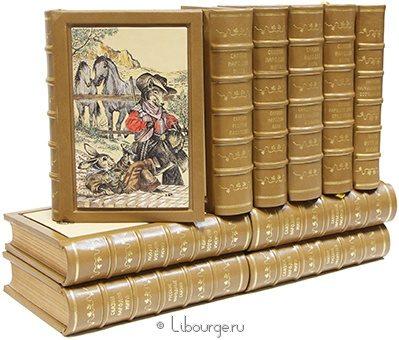Сказки народов мира (10 томов, №2) в кожаном переплёте