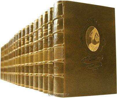 'Золотой фонд мировой классики (65 томов)' в кожаном переплете