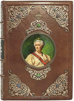 Подарочная книга 'Портреты русских царей и императоров (№156)'