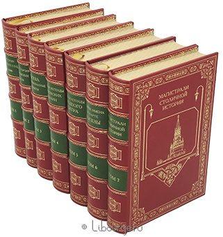 Подарочная книга 'История архитектуры и жизни города Москвы (7 томов, №2)'