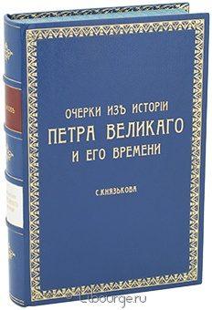 Антикварная книга 'Очерки из истории Петра Великого и его времени'