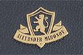 Экслибрис в виде герба со львом, на обложке с золочением