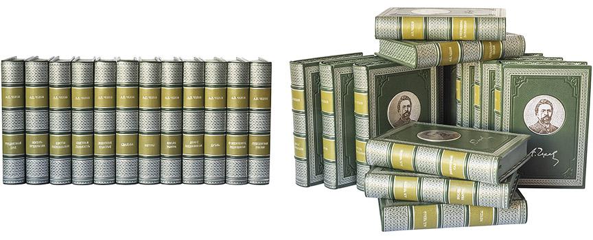Книги для частной библиотеки с художественно расписанными обрезами
