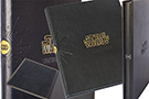 Дизайнерский переплет Энциклопедии Star Wars.